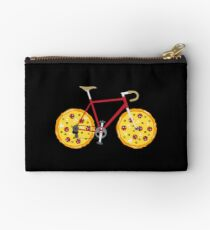 Funny Fastfood And Cat Cyclist - Pizza Racing Bike Täschchen