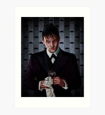 Examine your soul, Penguin Art Print