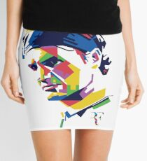Roger Federer art Mini Skirt