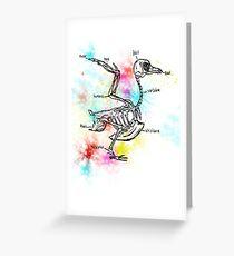 Bird bones Greeting Card