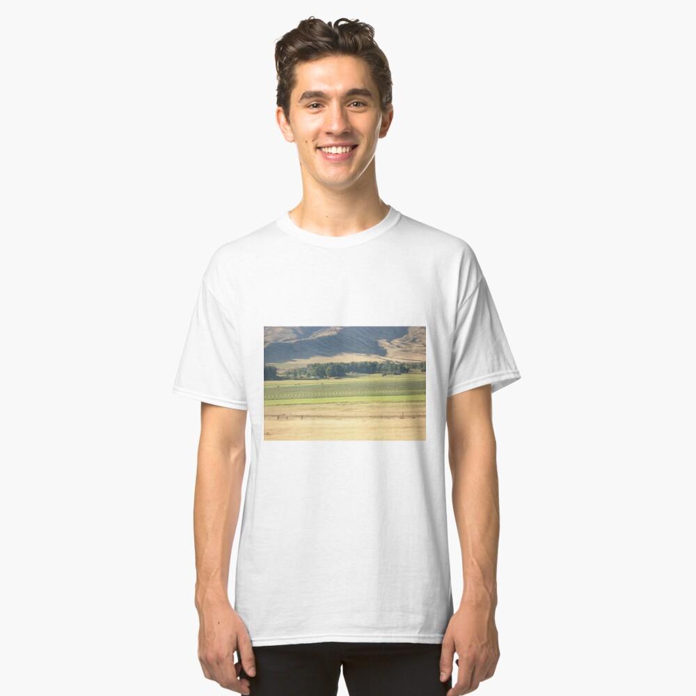 Alfalfa Field in Montana Classic T-Shirt Front
