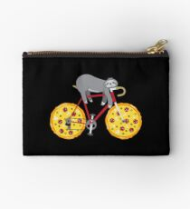 Pizza Cycling Sloth - Funny Fastfood And Sloth Cycling Team Täschchen