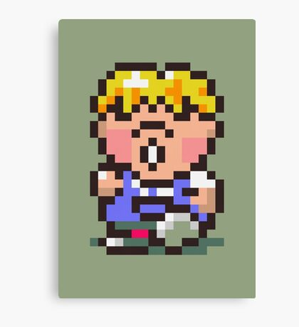 Pokey Minch - Earthbound/Mother 2 Canvas Print