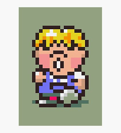 Pokey Minch - Earthbound/Mother 2 Photographic Print