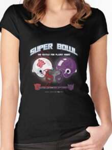 Intergallactic Super Bowl Women's Fitted Scoop T-Shirt