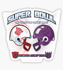 Intergallactic Super Bowl Sticker