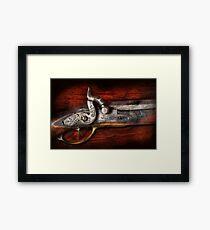 Gun - Rifle Works  Framed Print