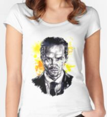 Jim Moriarty + paint Women's Fitted Scoop T-Shirt