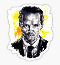 Jim Moriarty + paint Sticker