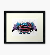 ARBOK V GOLBAT - Dawn of Injustice Framed Print