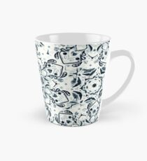 Stained Glass Mandala - Navy & White  Tall Mug