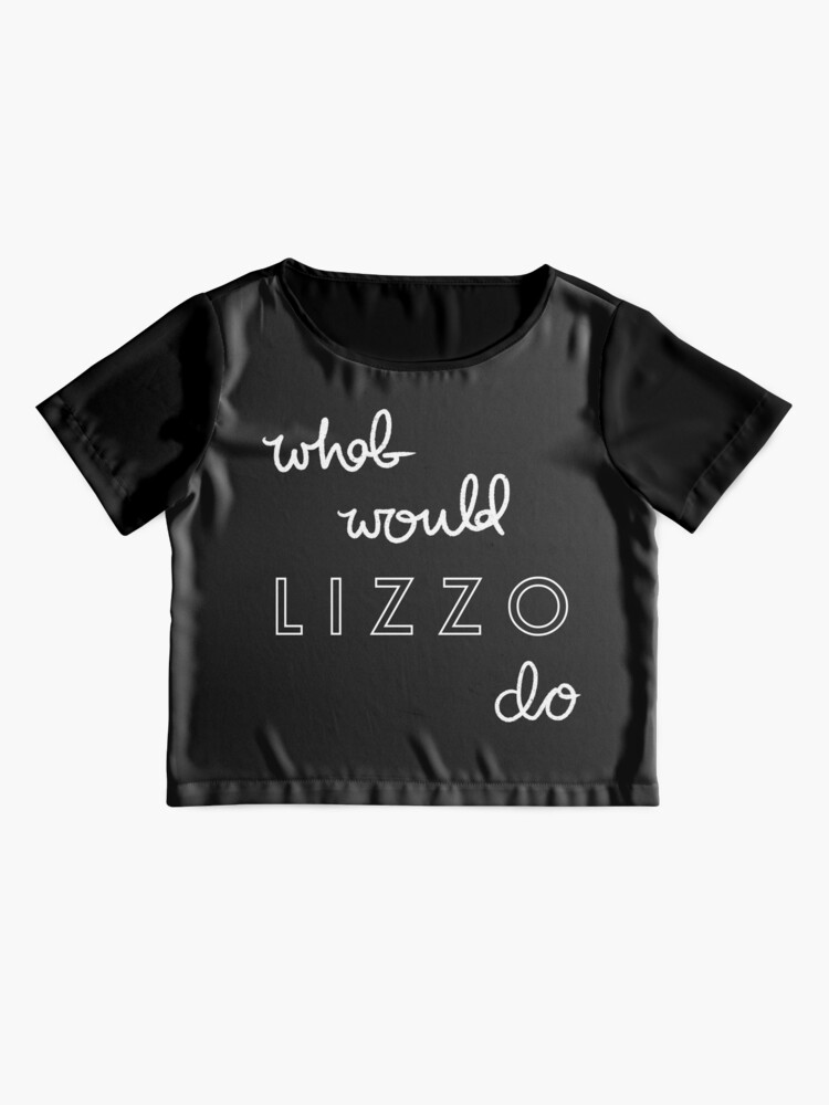 Alternate view of What Would Lizzo Do? Chiffon Top