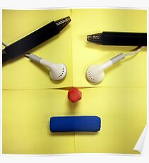 Post-it Face Poster