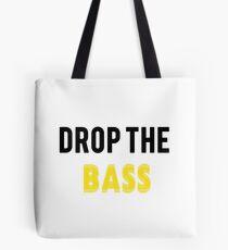 Bolsa de tela Drop The Bass: amarillo y negro