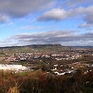 newtownabbey skyline by imagegrabber