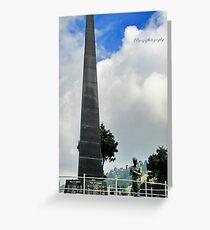 War Memorial Greeting Card