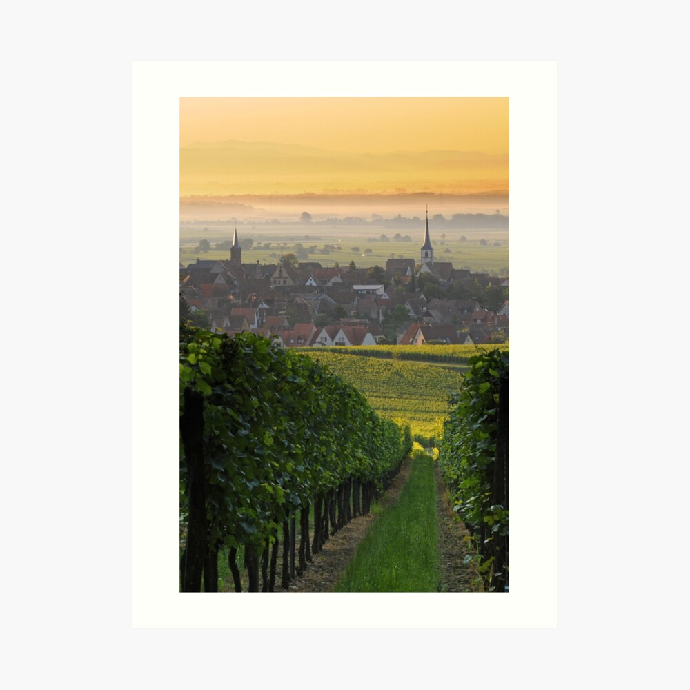 Village de Mittelbergheim 2 Impression artistique
