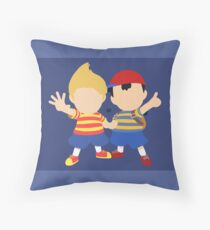Ness & Lucas (Blue) - Super Smash Bros. Throw Pillow