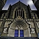 Gothic Heights - Sacred Heart, Bendigo by shadesofcolor