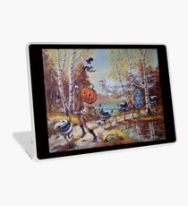 Hallowe'en Comes to Town Laptop Skin