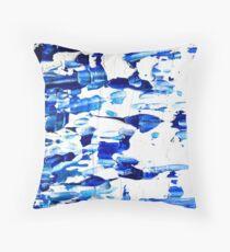 Blue & white Design  Throw Pillow