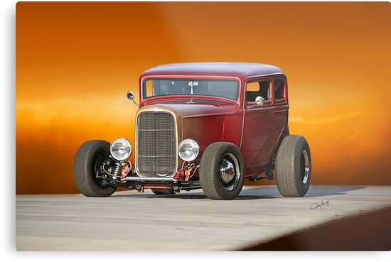 1932 Ford Victoria 'Leather' I by DaveKoontz
