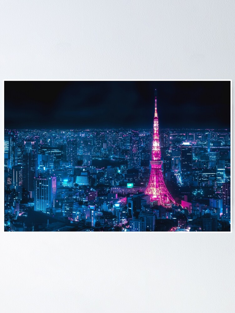 Alternate view of Tokyo Tower Poster