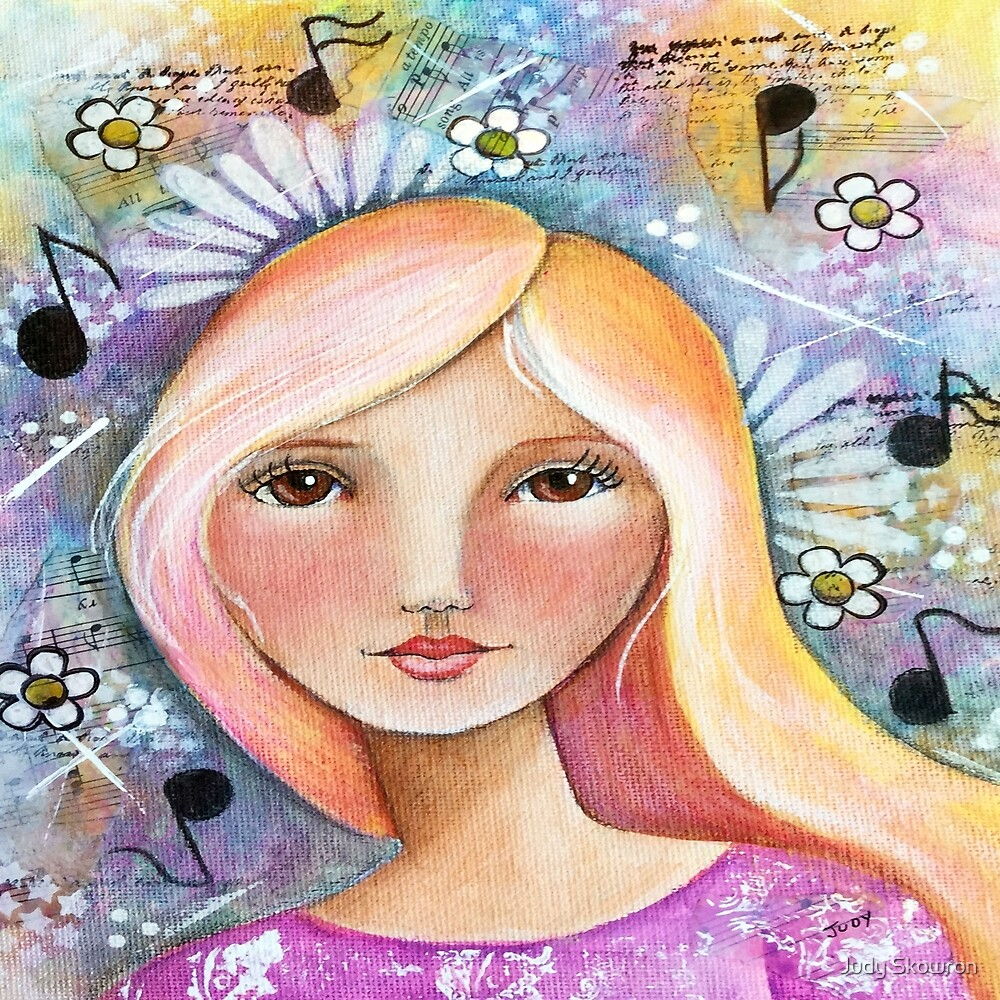 Brown Eyed Girl by Judy Skowron