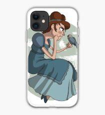 Grumpy Bluebird iPhone Case