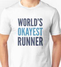 Camiseta unisex El mejor corredor del mundo
