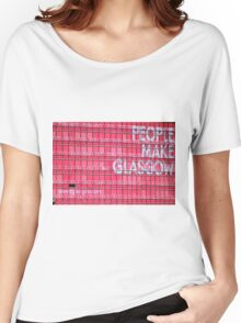 People Make Glasgow Women's Relaxed Fit T-Shirt