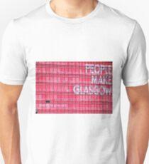 Leute machen Glasgow Slim Fit T-Shirt