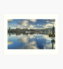 Windermere ,Views From The Glebe..Bowness Art Print
