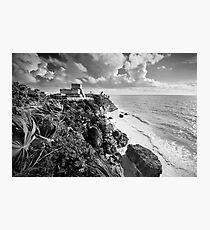 Mayan ruins at Tulum, Yucatan, Mexico. Photographic Print