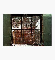 Broken economics Photographic Print