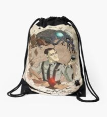H.P Lovecraft 125th Anniversary  Drawstring Bag