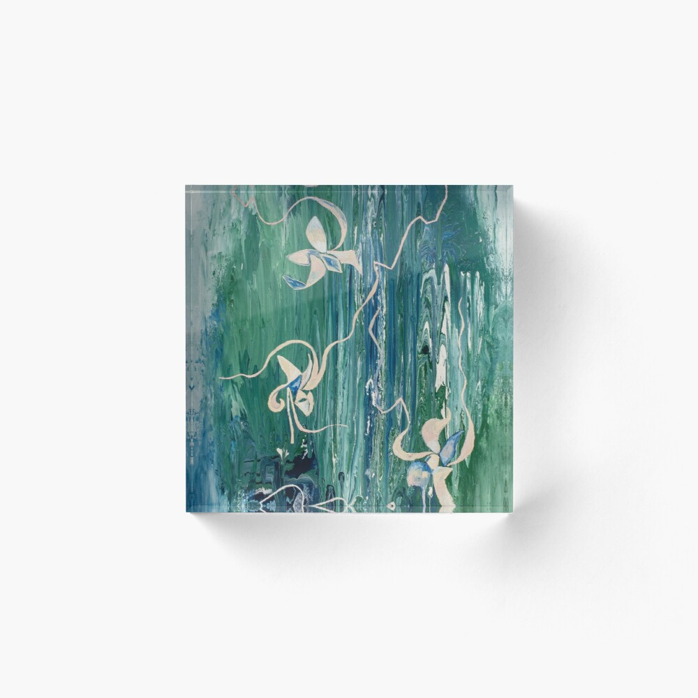 abstract water surface Acrylic Block