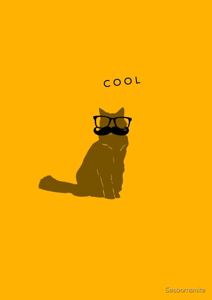 Cool cat! by Seabornsmite