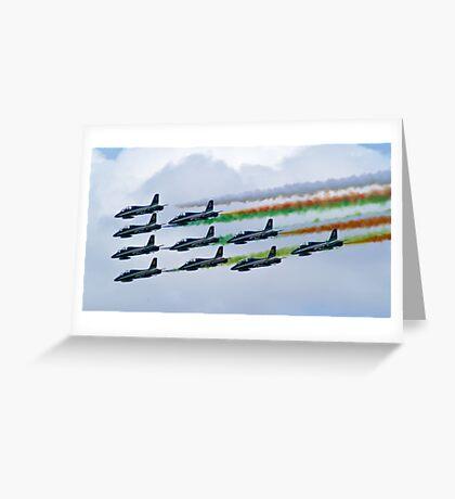 la Flecce Tricoloure Greeting Card