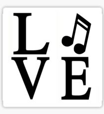 Love Music Sticker