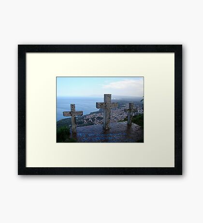 Watching Over Paradise Framed Print