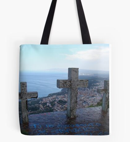 Watching Over Paradise Tote Bag