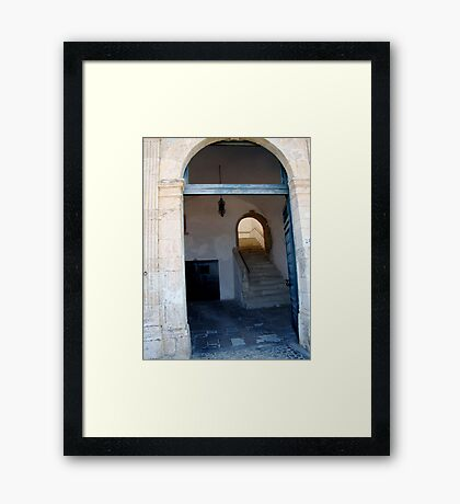 What's the Story Framed Print