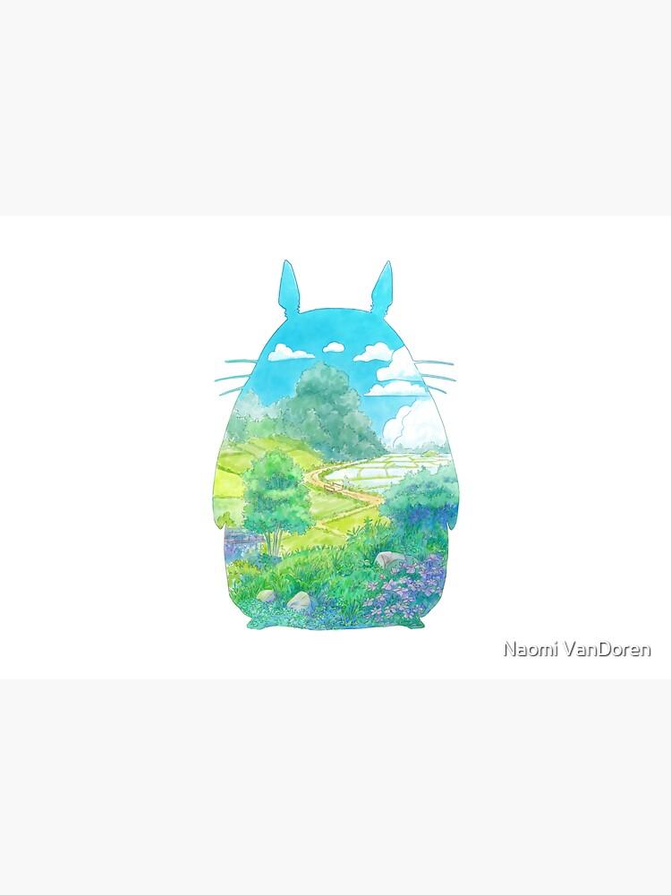 Totoro Landscape by NaomiV