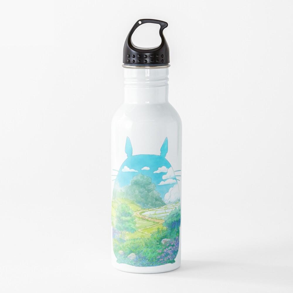 Totoro Landscape Water Bottle