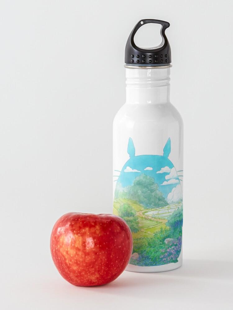 Alternate view of Totoro Landscape Water Bottle