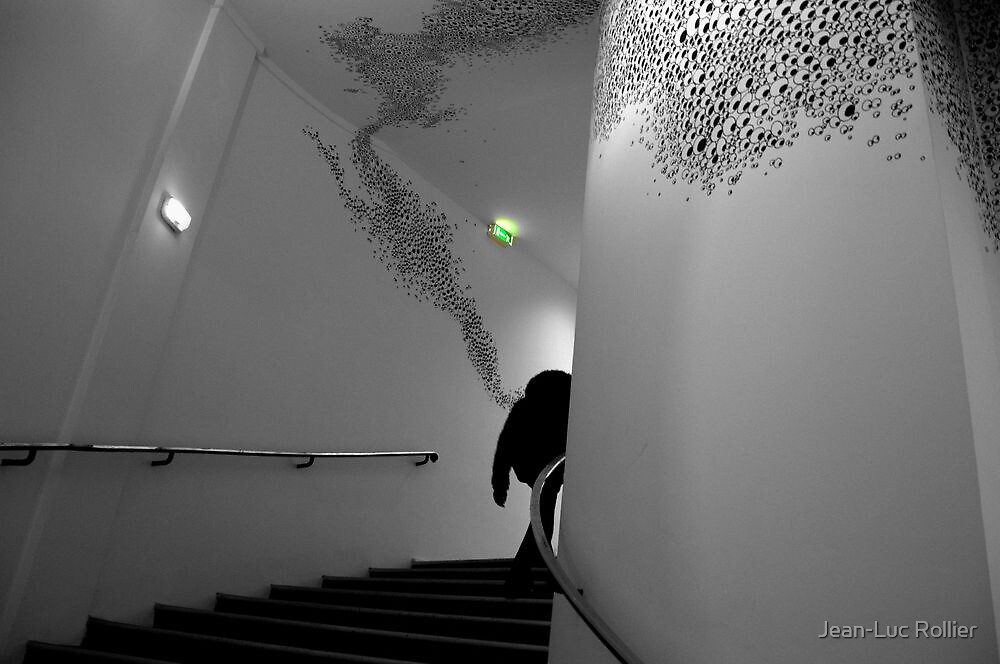 Paris - MAM stairs by Jean-Luc Rollier