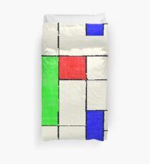 Mondrian 2000 Duvet Cover