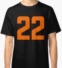 Orange Number 22 Classic T-Shirt