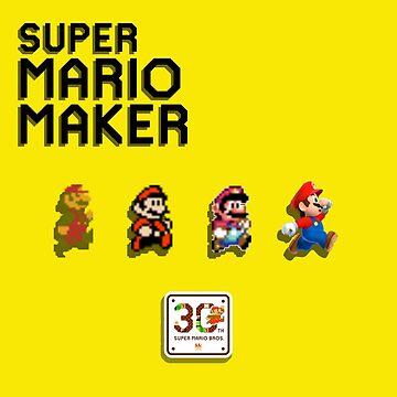 Mario Generations - Super Mario Maker by Ravioko